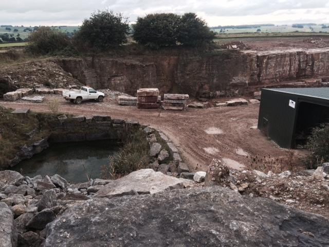 mandale Derbyshire Fossil Quarry 3