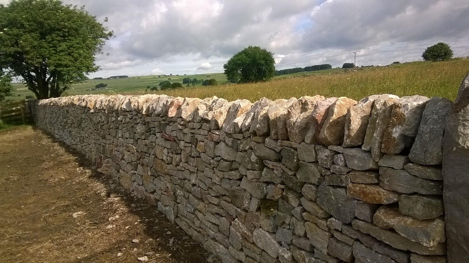 Dry stone walling 1
