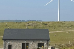 Building stone at wind farm