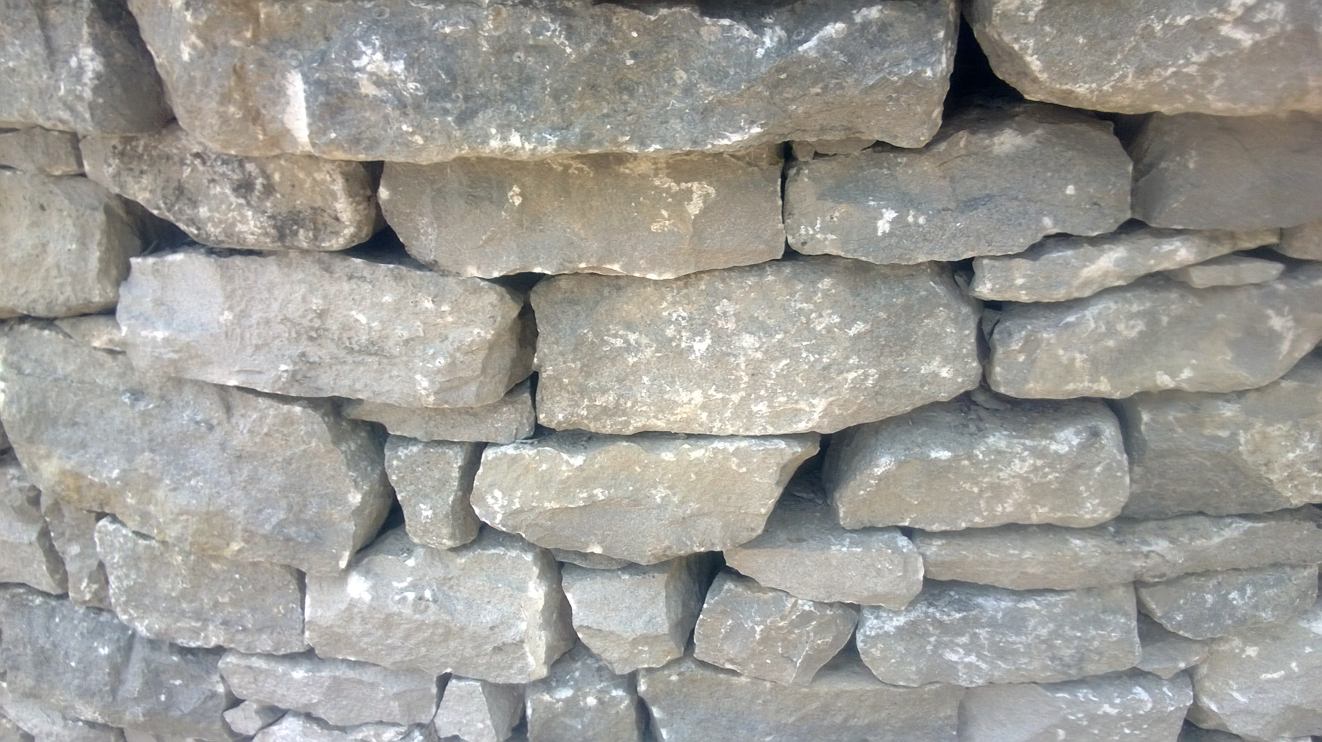 Dry Stone Wall close up