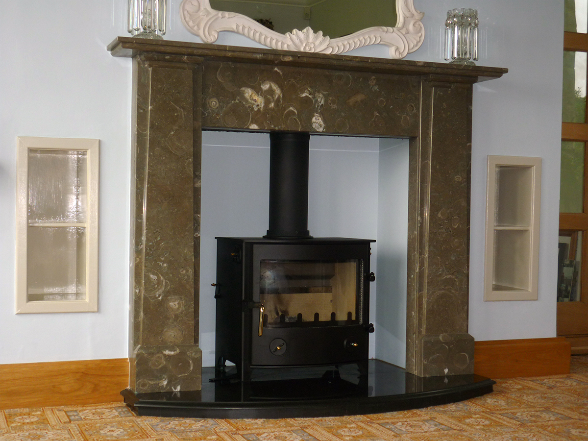 Mrs Wesson Fireplace